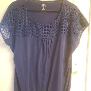 NWT Women's Navy Blue shirt